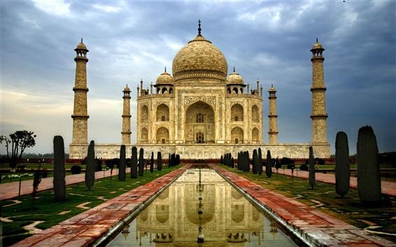 Fond d'écran Inde Agra Taj Mahal