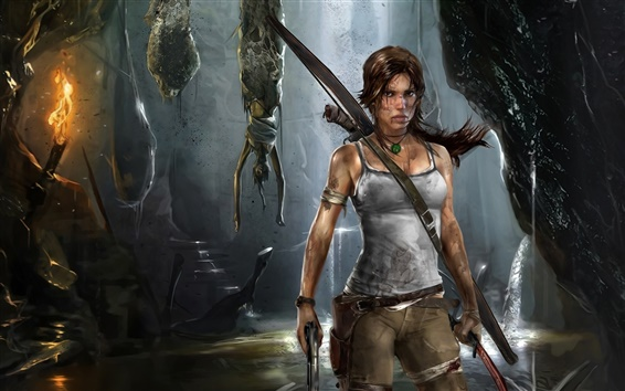 Fondos de pantalla Lara Croft en Tomb Raider 9 de ancho