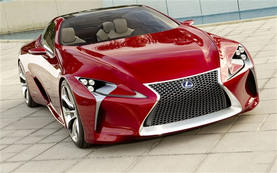 Обои Lexus LFA