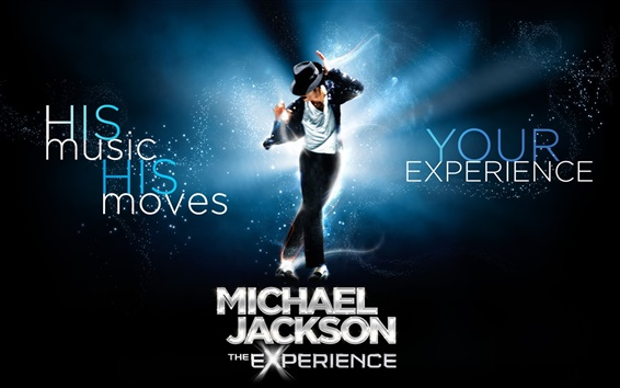 Обои Майкл Джексон легенда музыки
