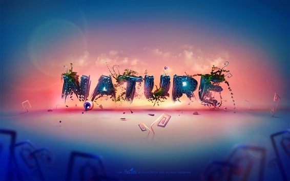 Fond d'écran nature Creative