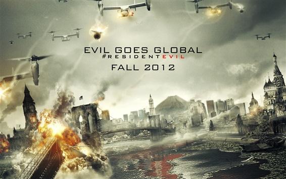 Wallpaper Resident Evil: Retribution 2012