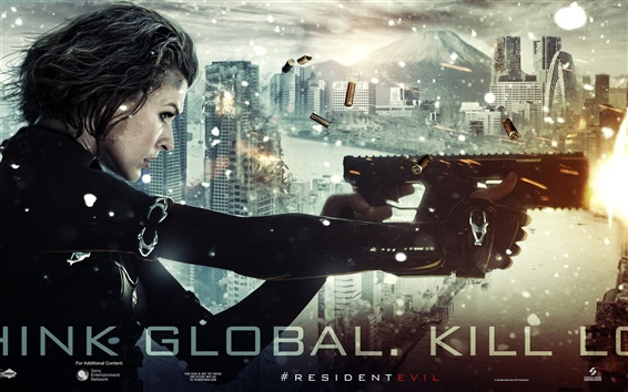 Fondos de pantalla Resident Evil: Retribution HD