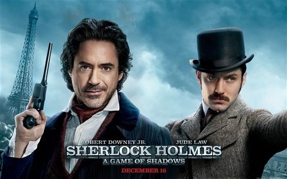 Wallpaper Sherlock Holmes 2 HD