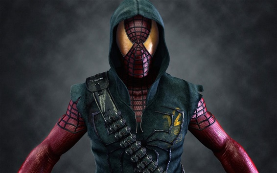 Fondos de pantalla Spider-man héroe máscara