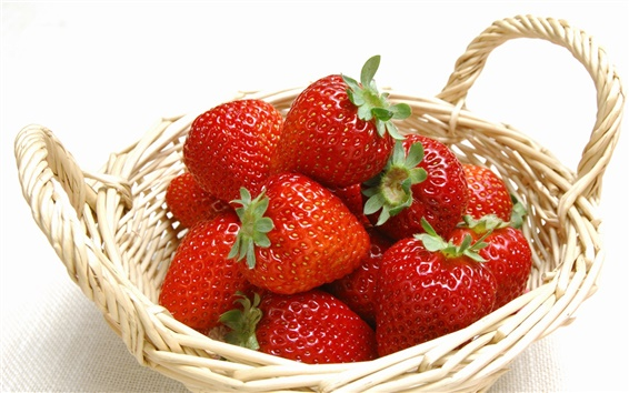 Wallpaper Strawberry basket
