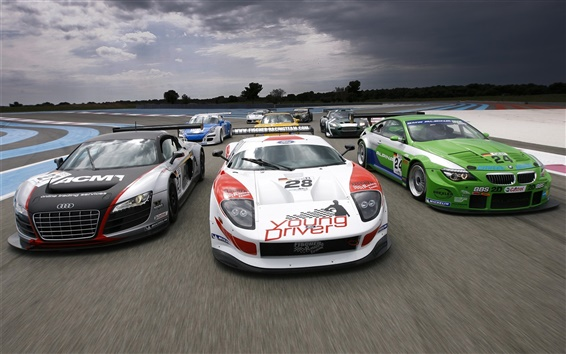 Обои Супер спортивный гоночный автомобиль