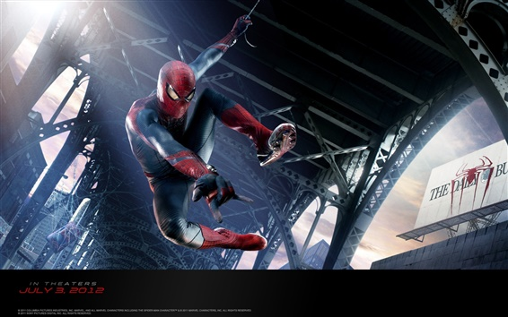 Wallpaper The Amazing Spider-Man 2012