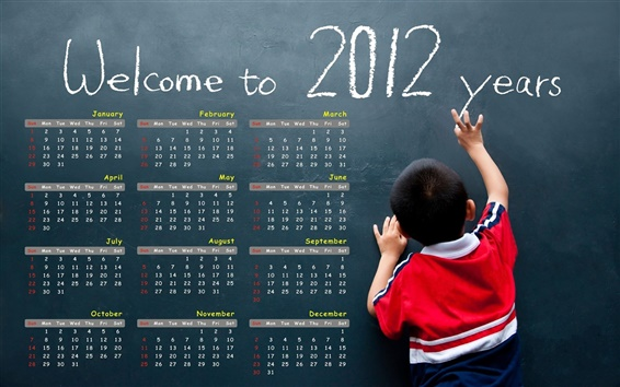 Wallpaper Welcome to 2012 years