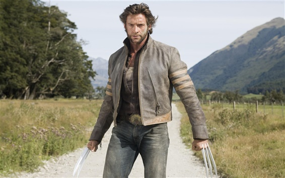 Wallpaper X-Men Wolverine Hugh Jackman