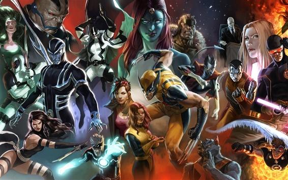 Wallpaper X-Men comics