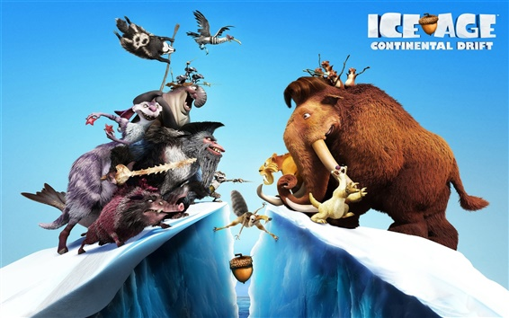 Wallpaper 2012 Ice Age 4 HD