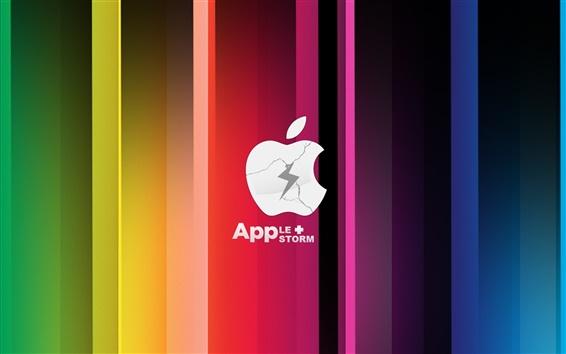 Wallpaper Apple Storm