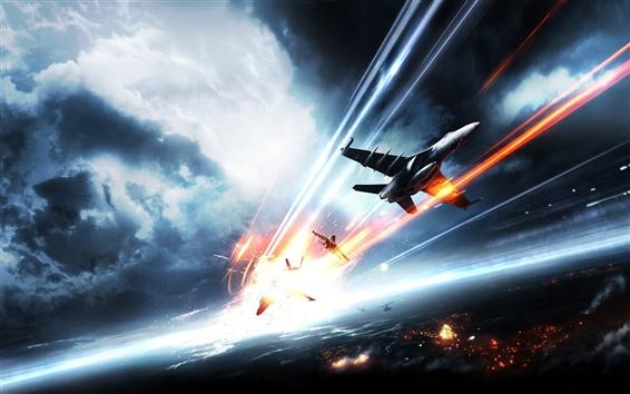 Wallpaper Battlefield 3 Air Combat