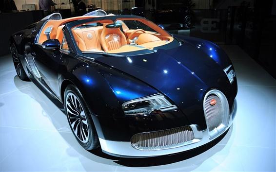 Обои Bugatti роскошный спортивный автомобиль