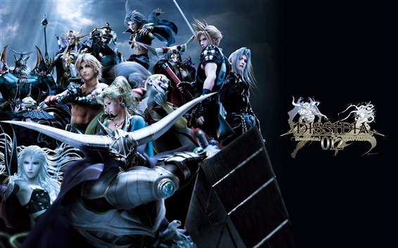 Wallpaper Dissidia 012: Duodecim Final Fantasy
