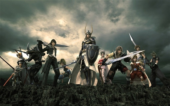 Papéis de Parede Dissidia: Final Fantasy