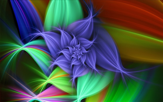 Wallpaper Flower graphics abstract