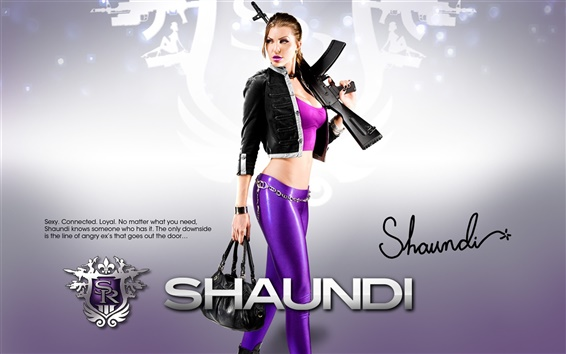 Wallpaper Girl in Saints Row: The Third