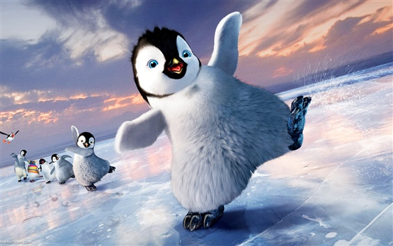 Wallpaper Happy feet 2 wide