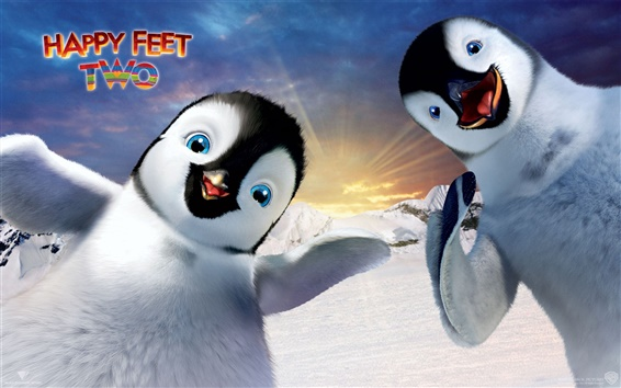 Wallpaper Happy feet Two HD
