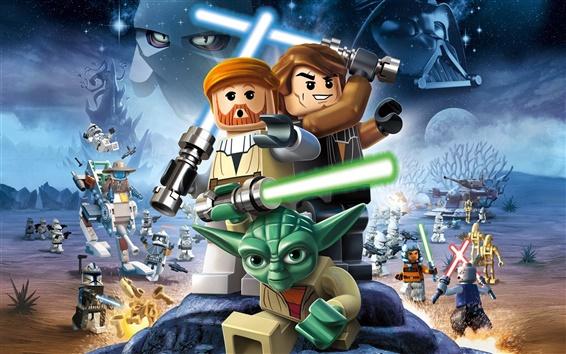 Fondos de pantalla LEGO Star Wars III: The Clone Wars