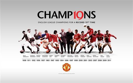 Wallpaper Manchester United football