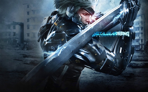 Wallpaper Metal Gear Rising: Revengeance