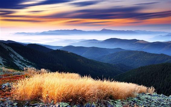 Papéis de Parede Montanhas belas paisagens