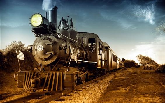 Fondos de pantalla Tren de vapor clásicas