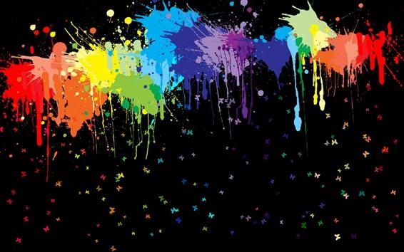 Fond d'écran Peinture abstraite splash