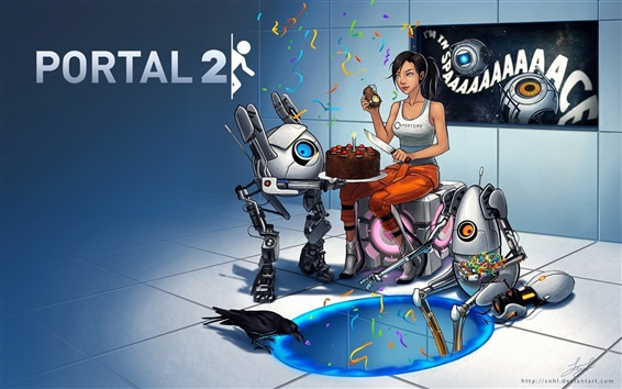 Wallpaper Portal 2 HD