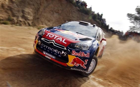 Wallpaper Rally cars skidding