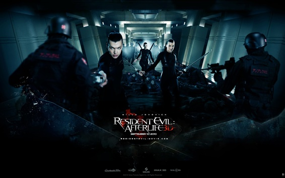Обои Resident Evil: Afterlife HD