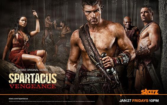Fond d'écran Spartacus: Vengeance
