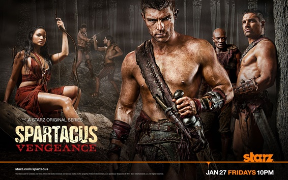 Fondos de pantalla Spartacus: Vengeance