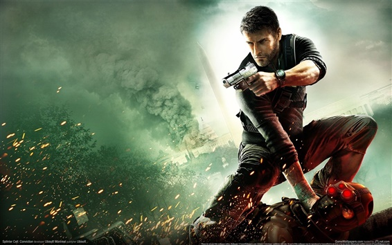 Fond d'écran Splinter Cell: Conviction HD