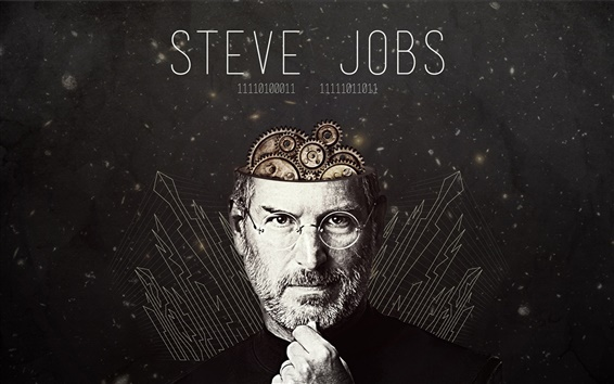 Wallpaper Steve Jobs is a great person