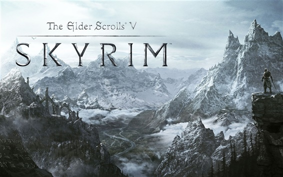 Wallpaper The Elder Scrolls V: Skyrim HD