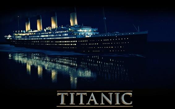 Wallpaper Titanic in 3D