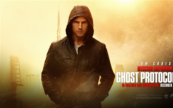Wallpaper Tom Cruise in Mission Impossible - Ghost Protocol