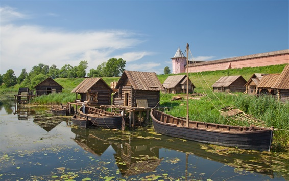 Fondos de pantalla Vladimir Suzdal paisaje