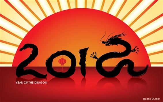 Обои Год Дракона 2012
