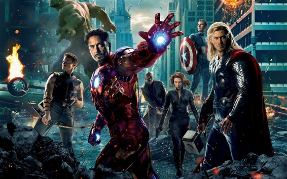 Hintergrundbilder 2012 The Avengers Film HD