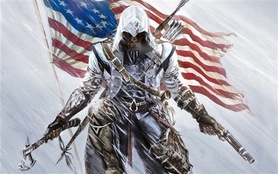 Fondos de pantalla Assassins Creed III