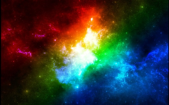 Wallpaper Colors in space