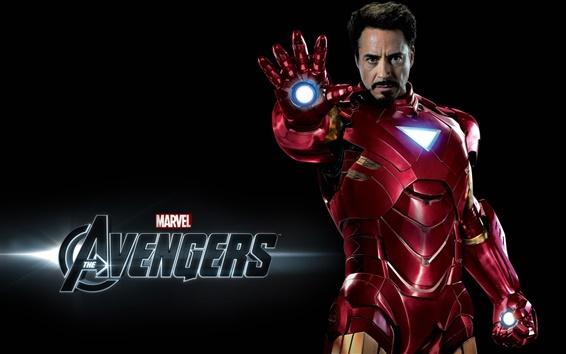 Fondos de pantalla Iron Man en Los Vengadores