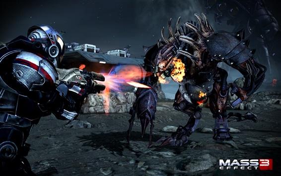 Обои Mass Effect 3 боевых