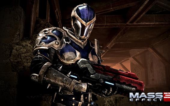 Обои Mass Effect 3 солдата