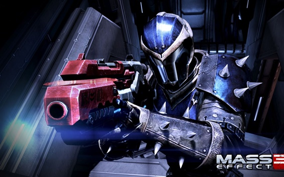 Wallpaper Mass Effect 3 weapon